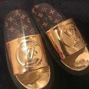 Authentic Louis Vuitton Slides